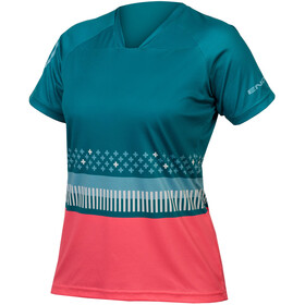 Endura SingleTrack Print T-Shirt Damen spruce green